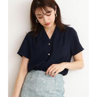 N.Natural beauty basic - エヌ シャツ ブラウス ◆ガルーダドビークロスシャツ