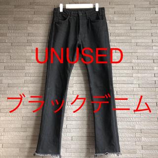 UNUSED - UNUSED 13.5oz denim five pockets pants