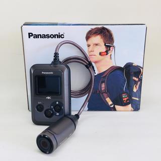 パナソニック(Panasonic)のパナソニック ウェアラブルカメラ グレー HX-A500-H(その他)