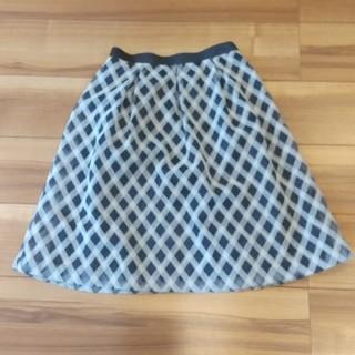 エニィスィス(anySiS)のanySIS スカート(ひざ丈スカート)