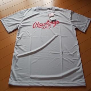 ローリングス(Rawlings)のローリングス ロゴ Tシャツ O ライトグレー ベースボールウェア(ウェア)