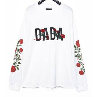 クリスチャンダダ(CHRISTIAN DADA)のクリスチャンダダ バラ刺繍(Tシャツ/カットソー(半袖/袖なし))