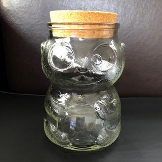 アンティーク パンダガラス(ガラス)