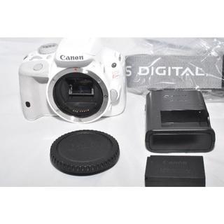 キヤノン(Canon)のキャノン EOS Kiss X7 ホワイト 美品 ショット数8667回(デジタル一眼)