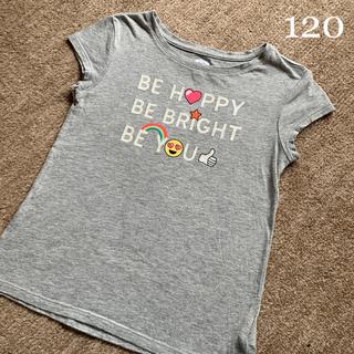 GAP Kids - 【GAP】女の子 120 グレー Tシャツ