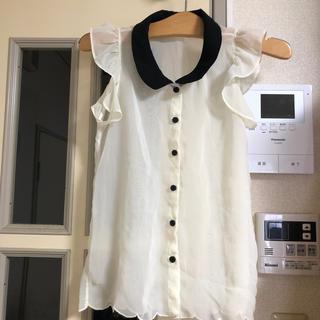 レピピアルマリオ(repipi armario)のレピピアルマリオ シースルートップス XS(Tシャツ/カットソー)