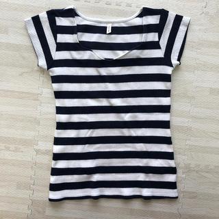 ロイヤルパーティー(ROYAL PARTY)のROYAL PARTY Tシャツ ボーダー(Tシャツ(半袖/袖なし))
