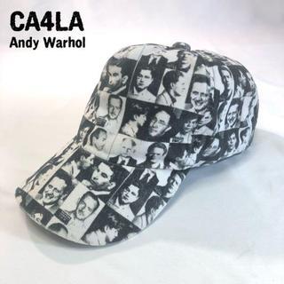 カシラ(CA4LA)の希少 カシラ CA4LA by Andy Warhol イラストキャップ(キャップ)