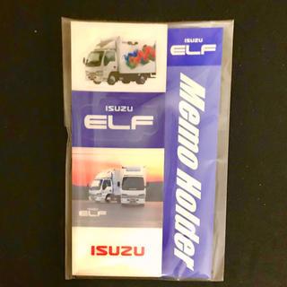 イスズ(いすゞ)のISUZU ELF いすゞ エルフ 両目粘着メモホルダー(ノベルティグッズ)