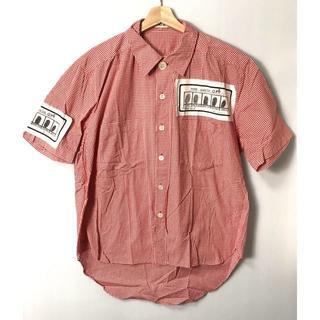 ミルクボーイ(MILKBOY)の【H】90'S◆ミルクボーイ ワッペン オーバーサイズ シャツ フリー(シャツ)