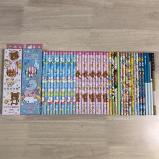 鉛筆 リラックマ♡まめゴマetc‥‥まとめ売り64本(鉛筆)
