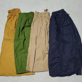 MUJI (無印良品) - 無印良品 スカート (春~夏素材) まとめて4点