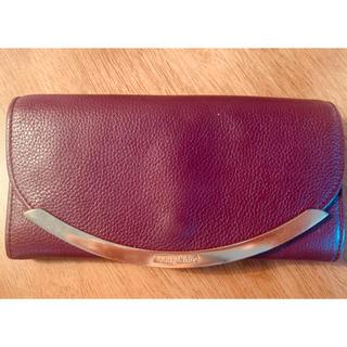 シーバイクロエ(SEE BY CHLOE)のシーバイクロエ 長財布 紫 牛革(財布)