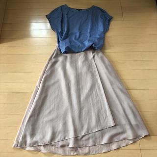 インディヴィ(INDIVI)のINDIVIのスカート 36(ロングスカート)