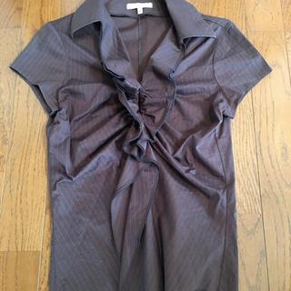 ナラカミーチェ(NARACAMICIE)のナラカミーチェ 茶色のブラウス(シャツ/ブラウス(半袖/袖なし))