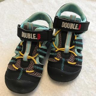 ダブルビー(DOUBLE.B)のDOUBLE.B サンダル 17.0cm(サンダル)