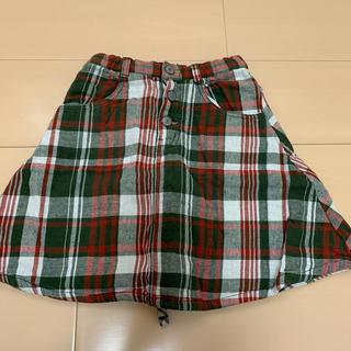 エムピーエス(MPS)の130 スカート MPS チェック(スカート)