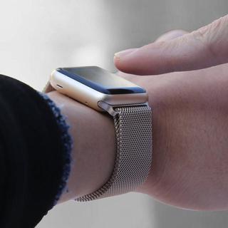 Apple Watch アップルウォッチ ミラネーゼ バンド 42/44mm併用(金属ベルト)