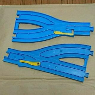 トミー(TOMMY)の単線・複線ポイントレール A B(鉄道模型)