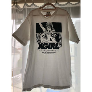 エックスガール(X-girl)のX-girl  楳図かずお コラボ Tシャツ(Tシャツ(半袖/袖なし))