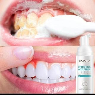 【即日発送】BAIMISSホワイトニングムース 歯磨き