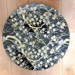 昭和レトロ ぎやまん 大皿 飾り(ガラス)
