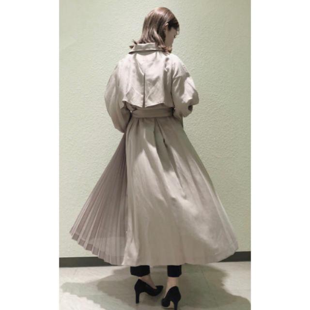 snidel(スナイデル)の田中みな実 着用 スナイデル トレンチコート スプリングコート レディースのジャケット/アウター(トレンチコート)の商品写真