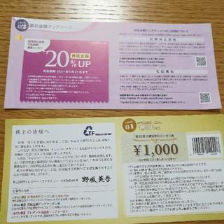 トレジャーファクトリー 株主優待 (ショッピング)