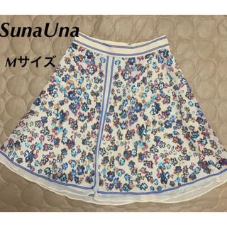スーナウーナ(SunaUna)の♡ SunaUna/スーナウーナ ♡エレガントな大人の女性のひざ丈スカート(ひざ丈スカート)
