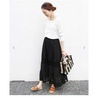 IENA SLOBE - スローブイエナ マニーレース イージーギャザースカート