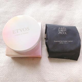 ETVOS - ジョンセンムルスキンヌーダークッションレフィル&エトヴォスUVパウダー セット