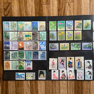 昭和の記念切手 使用済 300枚以上(使用済み切手/官製はがき)