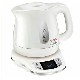 ティファール(T-fal)の【新品未使用】T-fal 電気ケトル ホワイト 0.8L(電気ケトル)