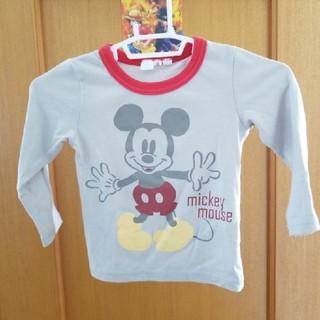ディズニー(Disney)のディズニー ミッキー ロンT 子供服サイズ1(Tシャツ/カットソー)