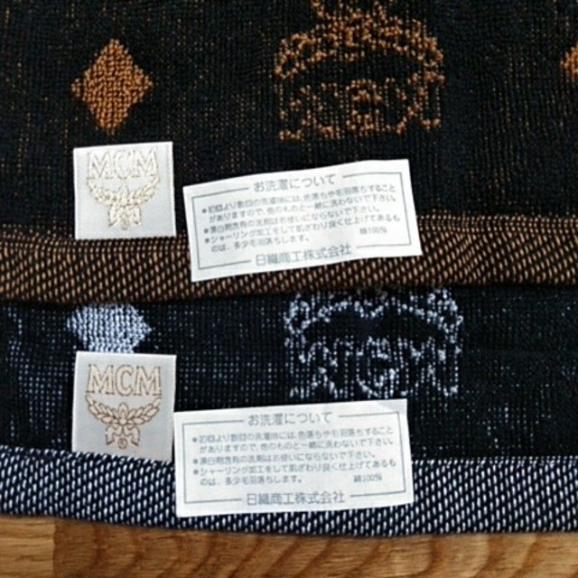 MCM(エムシーエム)のMCM ハンドタオル 2枚セット レディースのファッション小物(ハンカチ)の商品写真