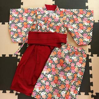 女の子着物 袴セット(和服/着物)