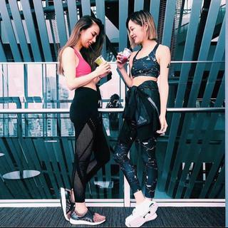 アディダス(adidas)のadidasアディダス ウィメンズ ジムトレーニング用 ロングタイツS レギンス(トレーニング用品)