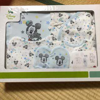 ディズニー(Disney)の☆新品未開封☆ディズニー 新生児ギフト ドレスオール(カバーオール)