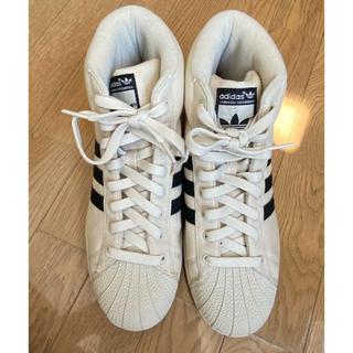 アディダス(adidas)の新品 adidas アディダス スニーカー ハイカット スーパースター(スニーカー)