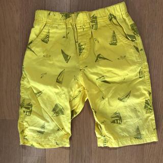 ジーユー(GU)のジーユー ハーフパンツ  黄色 120cm(パンツ/スパッツ)