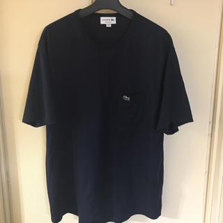 ラコステ(LACOSTE)のLACOSTE ラコステ ポケットTシャツ ネイビー XL(Tシャツ/カットソー(半袖/袖なし))