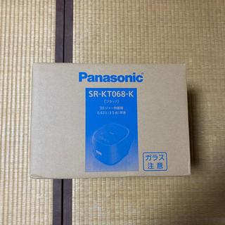 パナソニック(Panasonic)の限定1台 Panasonic 新品! IHジャー炊飯器 3.5合炊き ブラック(炊飯器)