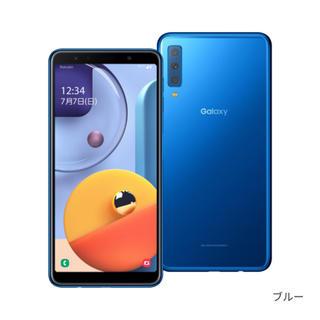 Galaxy - Galaxy A7 simフリー 新品 スマートフォン 本体 楽天モバイル対応