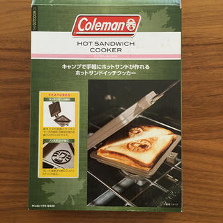 コールマン(Coleman)の【しゅう様専用】コールマン ホットサンドクッカー(調理器具)