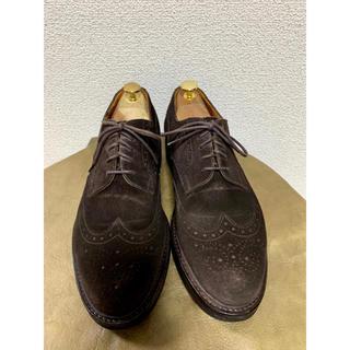 オールデン(Alden)のジャランスリワヤ  スエードウィングチップ size41(ドレス/ビジネス)