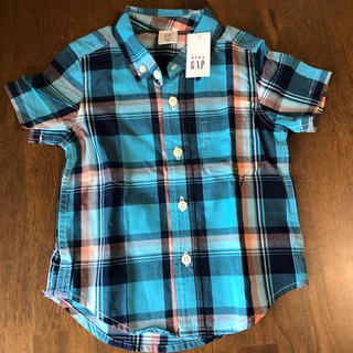 ベビーギャップ(babyGAP)のベビーギャップ半袖シャツ80(シャツ/カットソー)