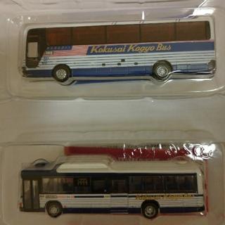 トミー(TOMMY)のトミーテック ザ・バスコレクション 国際興業バス 2台 シークレットあり(鉄道模型)