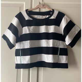 トミー(TOMMY)の【送料込み】TOMMY 白黒ボーダーTシャツ(Tシャツ(半袖/袖なし))