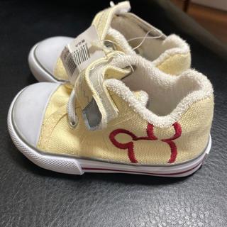 Disney - ミッキースニーカー新品未使用タグ付き13 cm