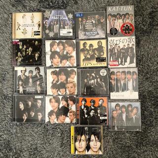 カトゥーン(KAT-TUN)のKAT-TUN 赤西仁 修二と彰 CD DVD まとめ売り(男性タレント)